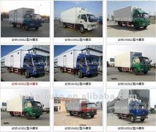 Isolated truck body, Dry cargo box panels