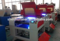 60x40cm/5070 laser engraving equipment SHENHUI for christmas pullover /ornament with Autocad Adobe alibaba yahoo