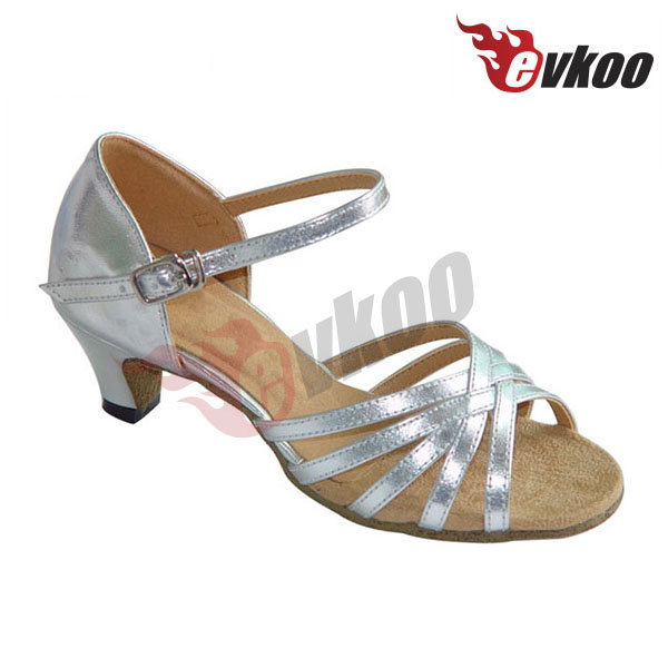 Hot sell children latin dance shoes girls high heel shoes size 2 kids open toe shoes