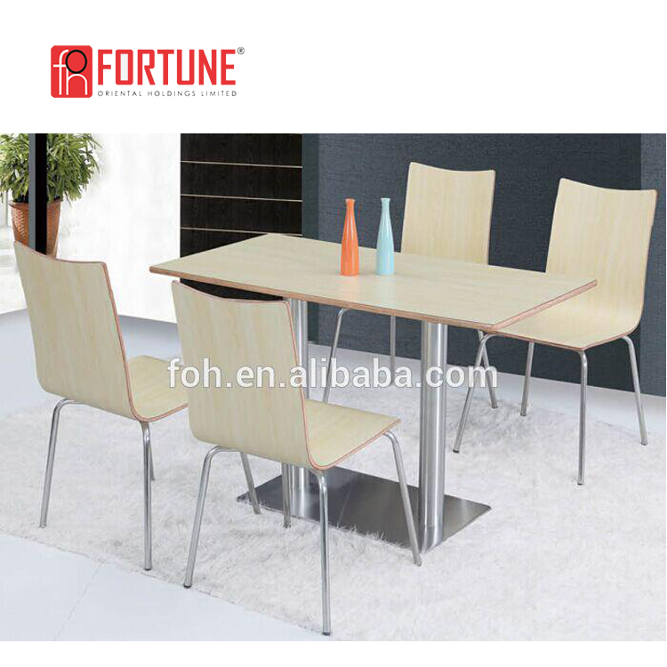 Fast Food Restaurant Furniture Table and Chair Popular Furniture (FOH-BC15)