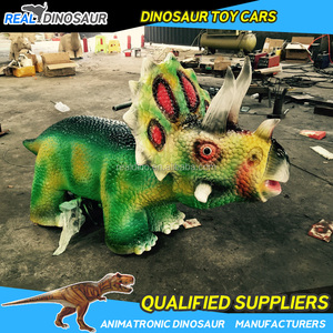Amusement park mall coin operated kids dinosaur ride on toy animals