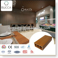 Rucca wpc GUS teak timber wood 100*50*3mm China