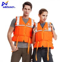 LED Floating Inflatable Life Vest Jacket Great to Ensure your Safety
