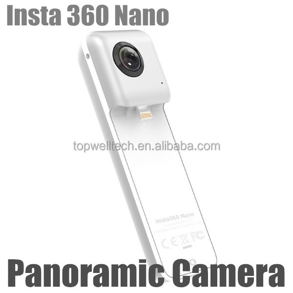 Insta 360 Nano wireless Video Camera 3K HD Panoramic VR Camera 360 210 Degree Dual Wide Angle Fisheye Lens