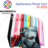 Blank Sublimation Phone Case for iPhone 5s - Colorful Case for Your Choice