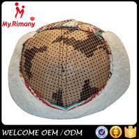 fashion polyester materials to make child hat