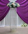 round decorative floor candle stand led column pillar wedding