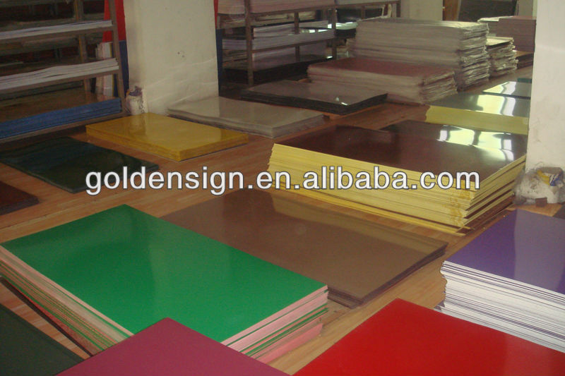 abs plastic sheet lowes/double engraving pvc sheet