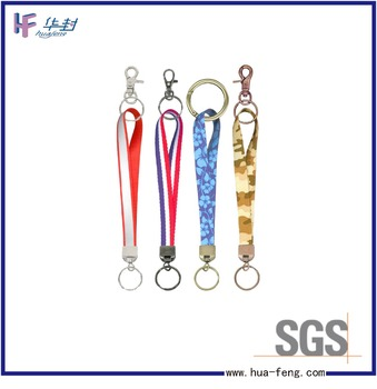 Personalized colorful medal lanyard