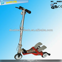 2 seat electric scooter with twin tail use gear drive /Double Link Original patent