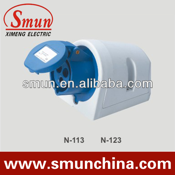 16A 3P 220V new type industrial plug and socket