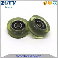 polyurethane pulley wheel 5x19x7mm 605-2RS