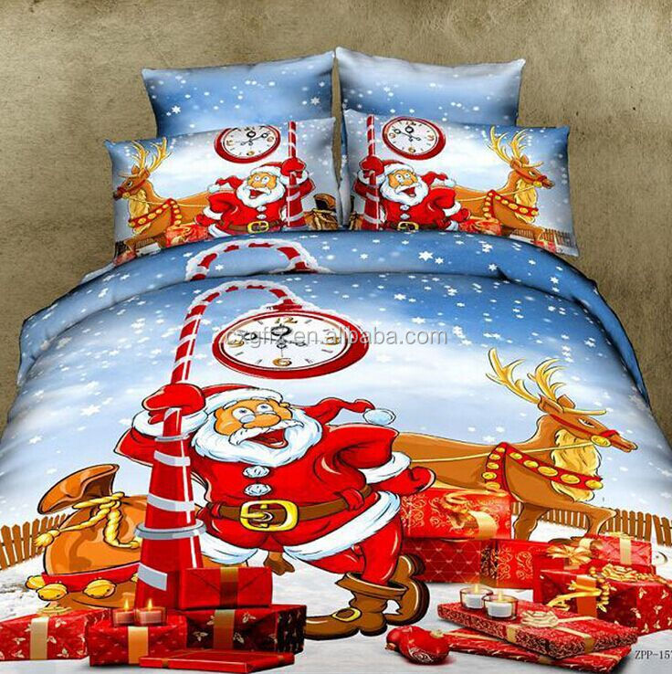 wholesale fabric for christmas bedding sets and in holidays market,nantong textiles,african textiles
