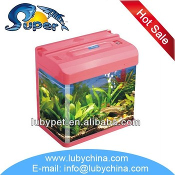 High quality HR-300B series small aquarium tank for aquarium fish, with cheap price