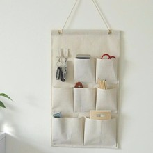 Over the Door Magazine Storage Pockets, Wall Door Closet Hanging Storage bag organizer