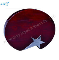 Star award wooden art home decorations