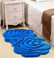 good quality 100%Polyester Shaggy 3D carpets for home