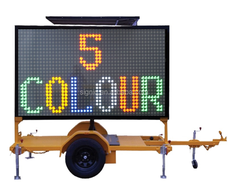 Vms LED Sign Trailer 4color (GW-VM400C)