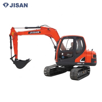 Factory best price 8000kg micro crawler backhoe hydraulic excavator in China