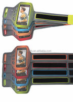 Light weight neoprene armband sleeve for iphone 6 accessories with adjustable strap