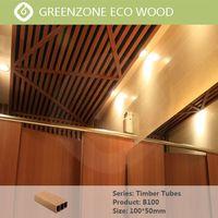 WPC profiles best fit for decorative applications wood beams Greenzone