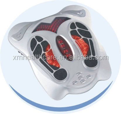 high quality acupuncture reflexology foot massager ems tens electronic pulse massager with auto timer