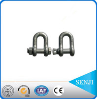 alibaba china stainless steel adjustable shackle with clevis pin plastic shackle d shackle