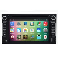 "OEM A9 Quad core Pure Android 5.1.1 HD 800*480 16GB Mirror-Link 6.2"" Car DVD Player GPS Stereo Radio For k ia carens x_trek"