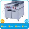 2014 Hot Sale Cooking Range with Hot Plate - Electric, 4 Plates, With Cabinet, 9200 Watt, TT-WE158B