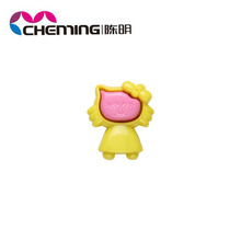 2014 new design colorful acrylic yiwu opaque hello kitty bead