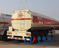 3-axle 40000 litres Fuel/Oil Tanker Truck Semi Trailer For Sale