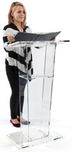2015 Factory Hot Sell acrylic lecture stand OEM