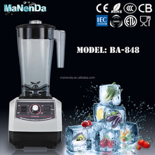 2016 new style commercial ice crush blender With 2.8L Large Capacity Jug