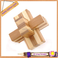 2013 trendy gift toys for child bamboo puzzle 3d educational toy