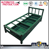Bedroom Furniture Type and Modern Appearance knocked down single metal bed