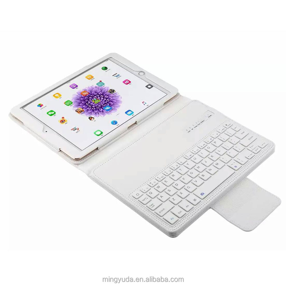 For ipad pro 9.7 inch bluetooth keyboard with pu leahter case