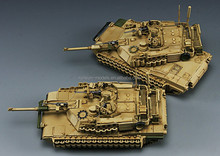 1:72 scale US Army Main Battle Tank M1A2 SET TUSK II ABRAMS tank model kits
