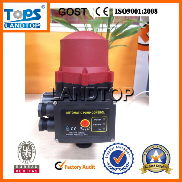 TOPS automatic pressure control switch for water pump