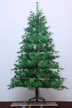 Alibaba china Cheapest tinsel butterfly pvc christmas tree