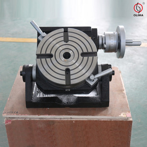 CNC Tilting Rotary Table/ Rotary Table for Milling Machine