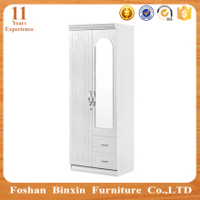 2 door wardrobe 9162 cheap price bedroom wall wardrobe cabinet