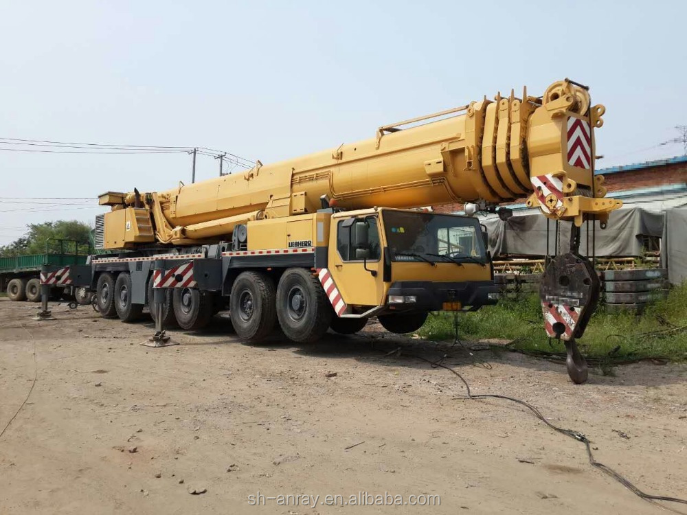 300 ton Liebherr LTM 1300 truck mounted crane for sale, 300 ton mobile crane of good condition and cheap price!
