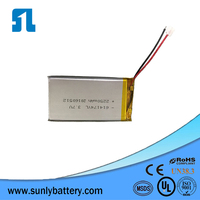 2250mah 3.7v lithium polymer battery pack,with KC certificated