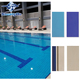 large stock quick delivery 240 x 115 mm 244 x 119 mm Swimming pool tile ceramic for pool floor and wall decoration