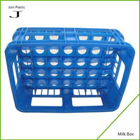 Plastic glass crates wine glass crate