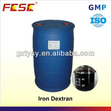 Veterinary Drugs Pharmaceutical Raw Materials Iron Dextran