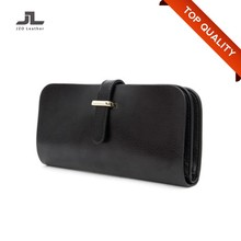 Ladies Genuine Leather Wholesale Womens Wallet/Lady Clutch Purse