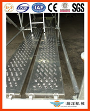 Aluminium Plank With Perforated Design For Scaffold