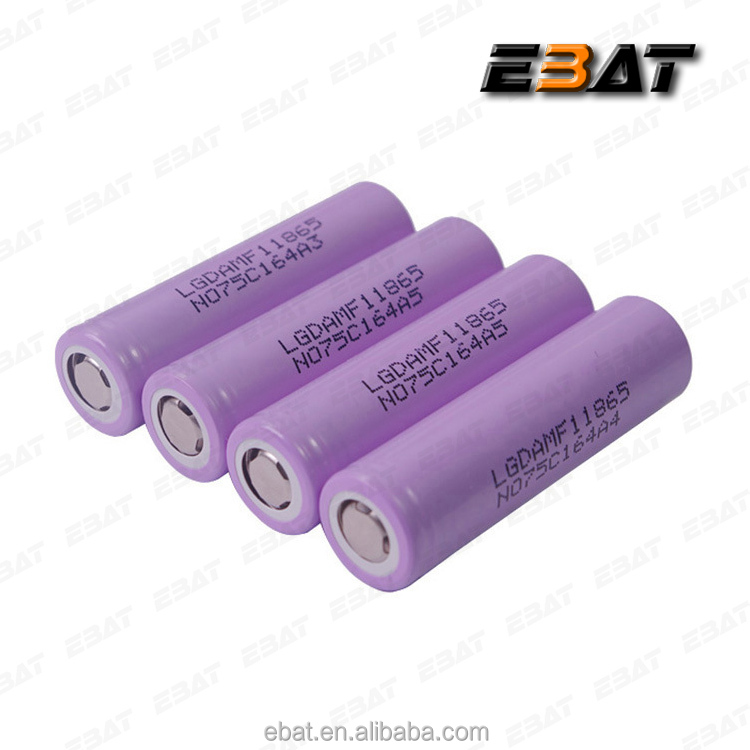 original product LG 18650 MF1 3.7v lithium battery 2200mah 10A discharge