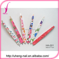 Wholesale products promotional wholesale stainless steel eyebrow tweezers